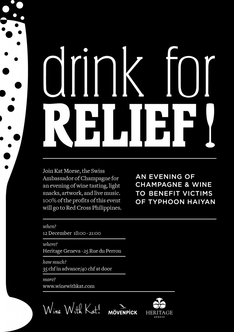 'Drink for relief' 12.12.2013