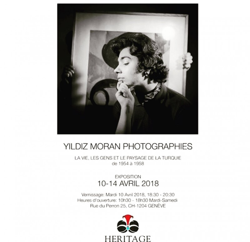 EXHIBITION OF YILDIZ MORAN PHOTOGRAPHS LIFE, PEOPLE AND THE LANDSCAPE OF TURKEY from 1954 to 1958