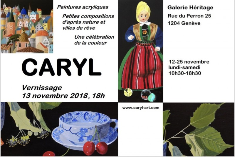 "Exhibition « Carly "" 12.11-25.11.2018"